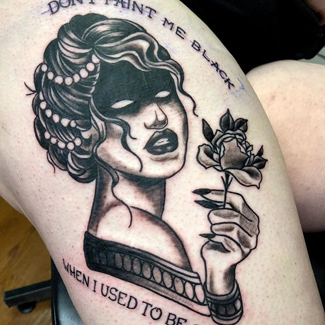 David at Glass Door Tattoos. The Story So Far
