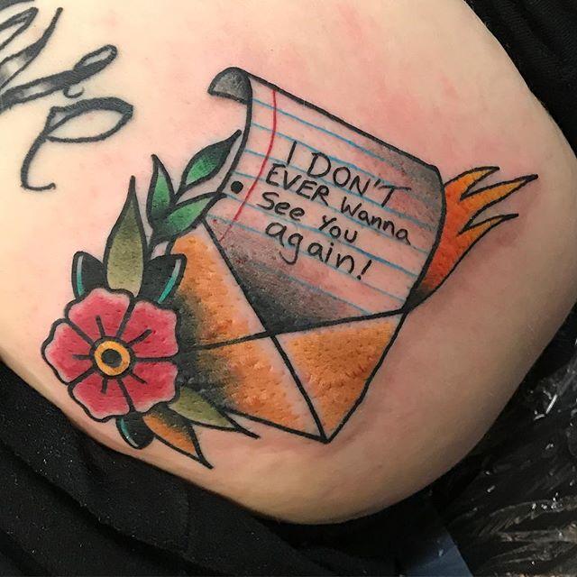 Shannon Taber •Tattoo artist •Lucky Bird Tattoo Annapolis, MD New Found glory