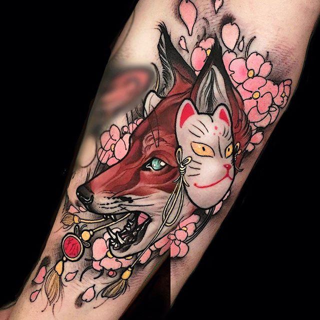 Japanese kitsune