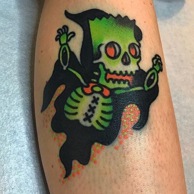 Jon Larson Depot town tattoo Ypsilanti-MICHIGAN