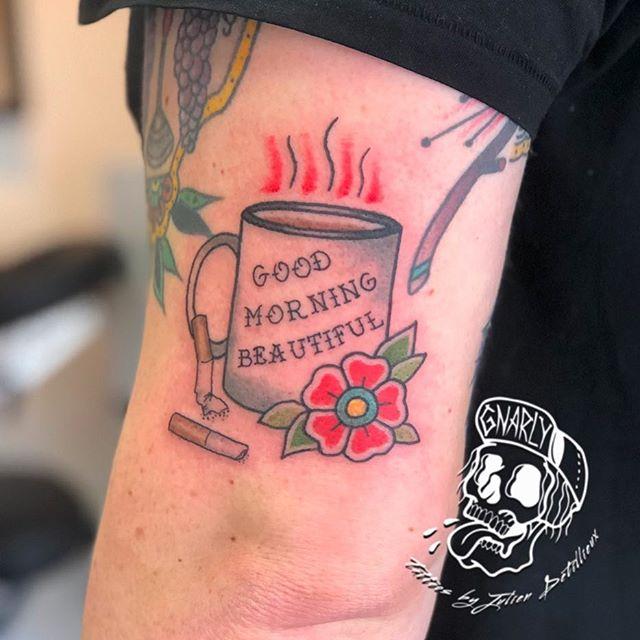 Julien Detillieux Tattoo artist @rbenderstudio