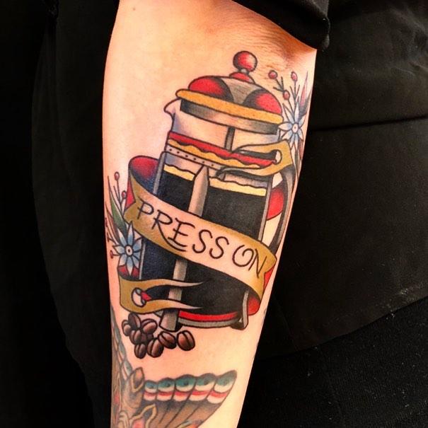 Luke Worley Tattooer:Co-Owner of Good Graces Tattoo & Design