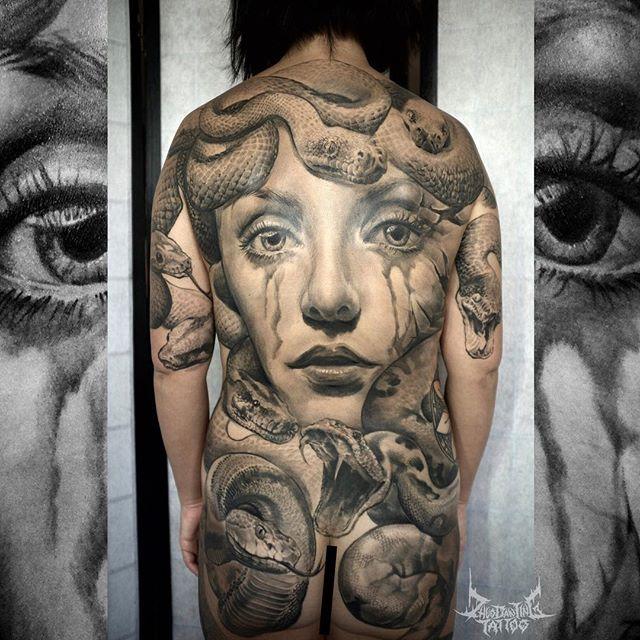 Medusa Tattoos All Things Tattoo