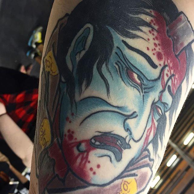 Alex Rusty Artist:owner at @Lighthouse_Tattoo in Sydney, Australia