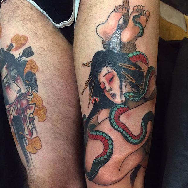 Alix Ge Alix Ge tattoo, chez @misericorde.sete France