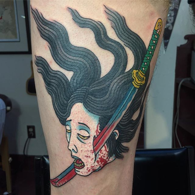 Lango Oliveira at Black Heart Tattoo in San Francisco