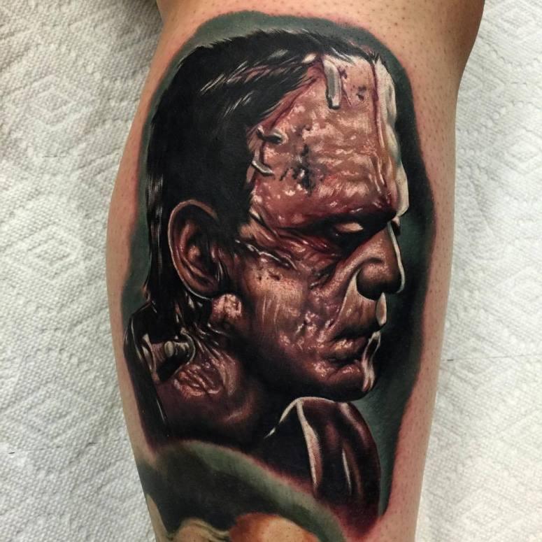 Audie Fulfer jr. tattoo artist in Fresno CA