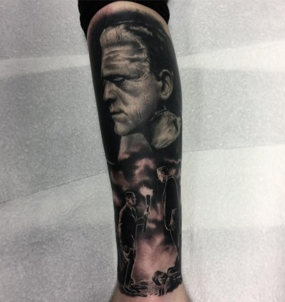 ️Kyle 'EGG_ Williams, Uk ,Grindhouse tattoo productions
