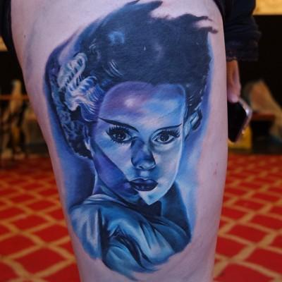 Jordan Croke Second Skin Tattoo, Derby UK