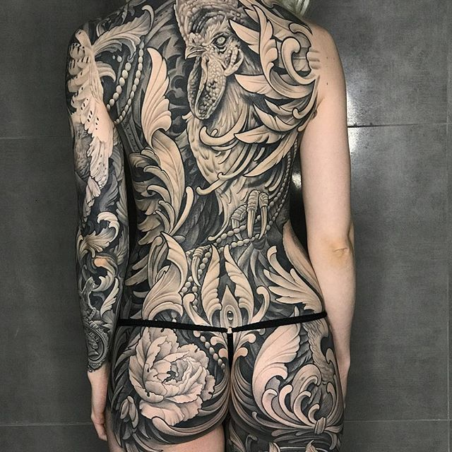 Julian Siebert Corpsepainter Tattoo Munich:Germany