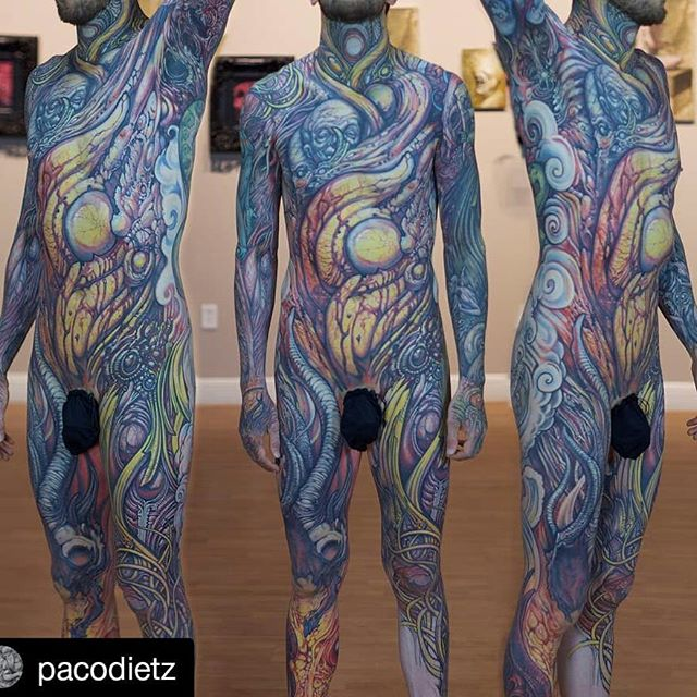 Paco Dietz Tattoo Artist, Oil Painter, Sculptor. Santa Clara, Ca