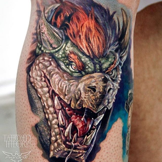 Javier Antunez Artist:Owner of @TattooedTheory