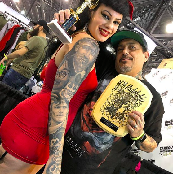 Rick Vicious owner of INk-Slingas Tattoo