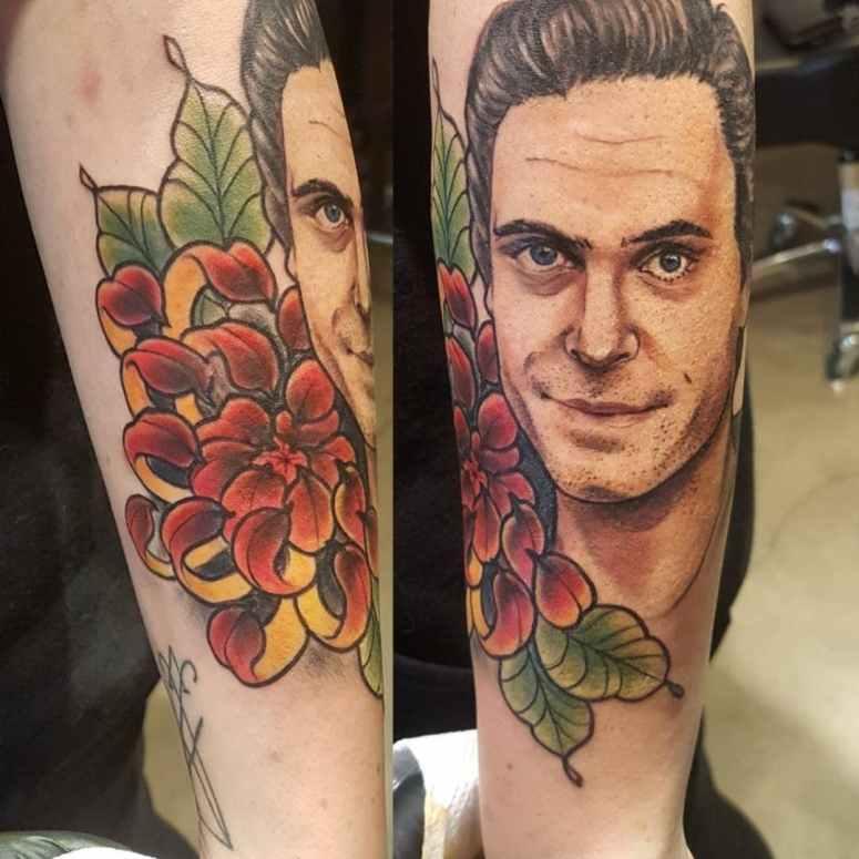 Zel Tattoo (Ted Bundy)