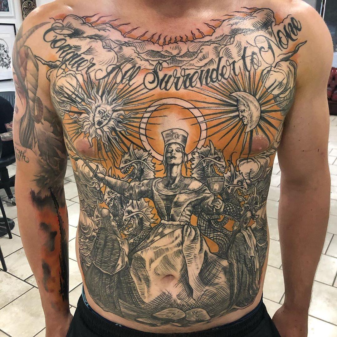 Hours black metal tattoo The 39