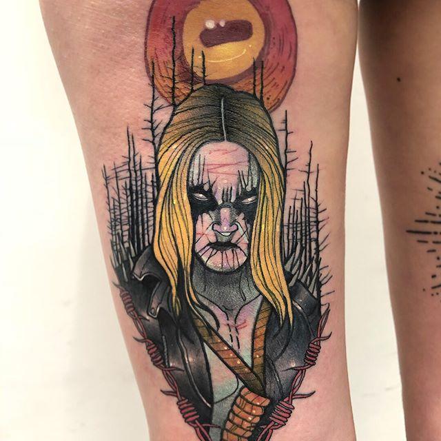 Metal tattoo black font 37 Tattoo
